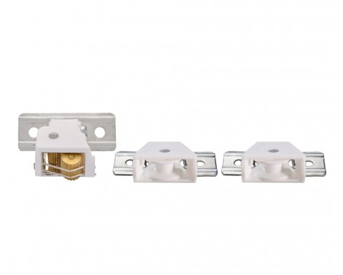 Lock and pulley set
